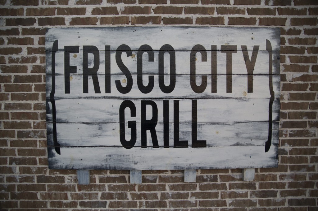frisco city grill sign