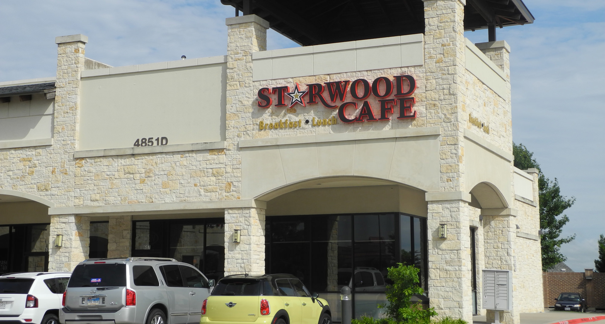 Starwood Cafe Menu Mckinney