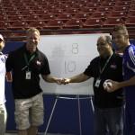 frisco fireball run 2014 mayor maso councilman keating toyotay stadium