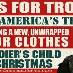 Operation Once in a Lifetime - Toys for Troops